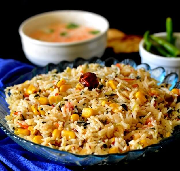Corn Methi Pulav